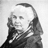 Elizabeth Cady Stanton was among many who fought for women's right to vote.