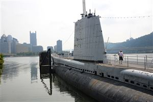 The USS Requin submarine at the Carnegie Science Center will be closing to visitors temporarily while it is repainted.