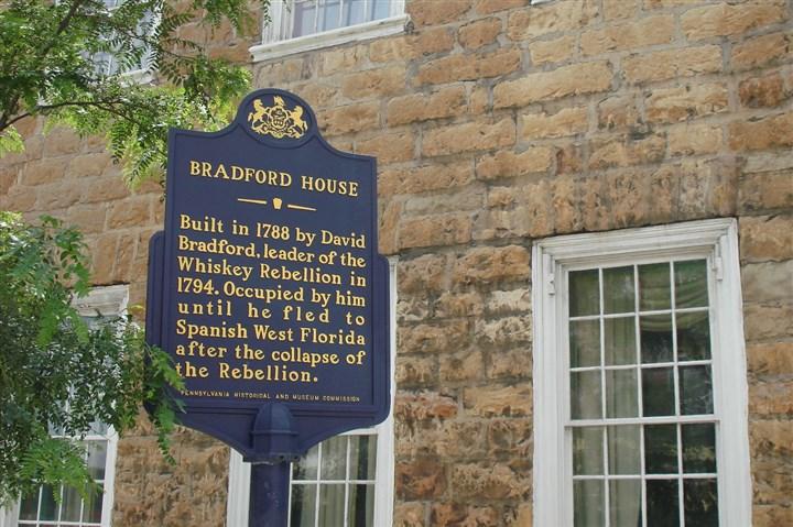 Historic David Bradford House In Washington Pa