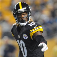 Martavis Bryant lines up Thursday against the Panthers at Heinz Field.