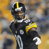 Martavis Bryant lines up against the Carolina Panthers during a preseason game last month at Heinz Field.