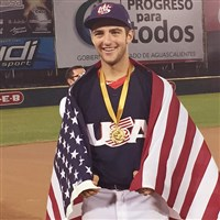"Butler Area High School baseball player Connor Ollio participated in the COPABE ""AA"" Pan American Championships in Mexico as part of Team USA 15U."