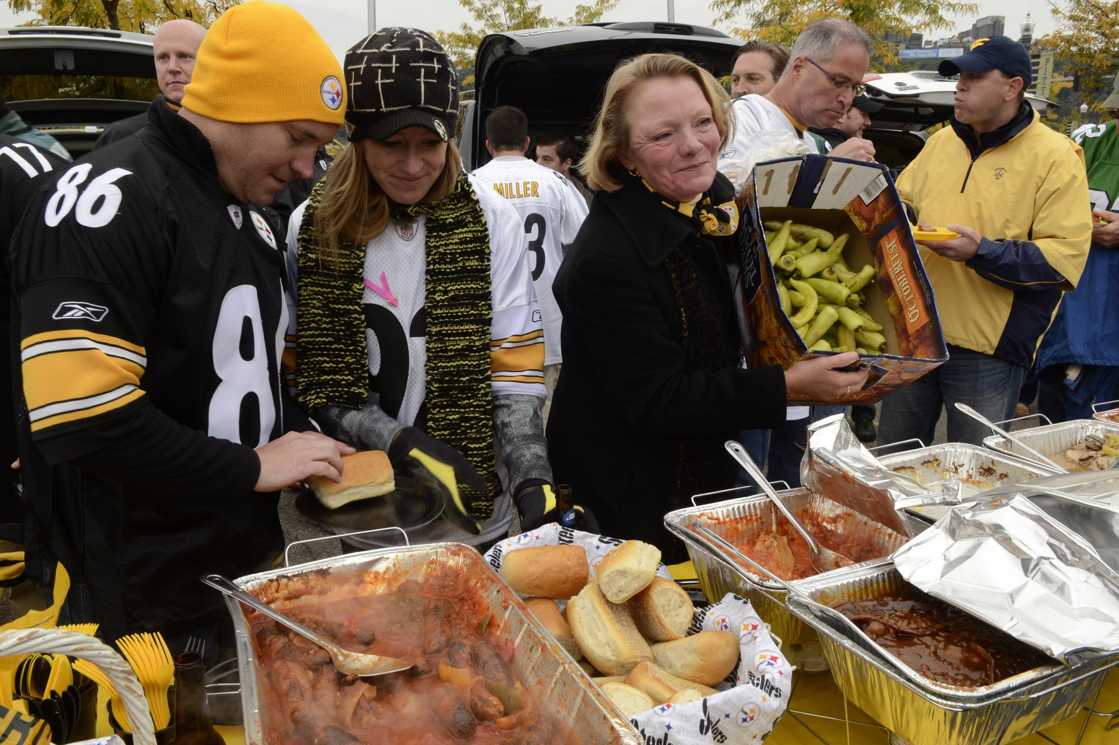 A Football Feast Pairing Steelers And Food