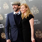 "FILE - In this Monday, Dec. 8, 2014, file photo, actors Jon Hamm and Jennifer Westfeldt attend the premiere of ""Into The Woods,"" at the Ziegfeld Theatre in New York. Hamm and Westfeldt released a statement Monday, Sept. 7, 2015, through publicist Annett Wolf that ""with great sadness"" they were separating after 18 years. (Photo by Evan Agostini/Invision/AP, File)"