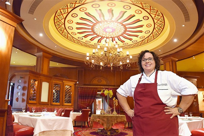 Lautrec restaurant's chef de cuisine, Kristin Butterworth, is one of the few female chefs with a Five-Diamond AAA rating and a Five-Star rating from Forbes.