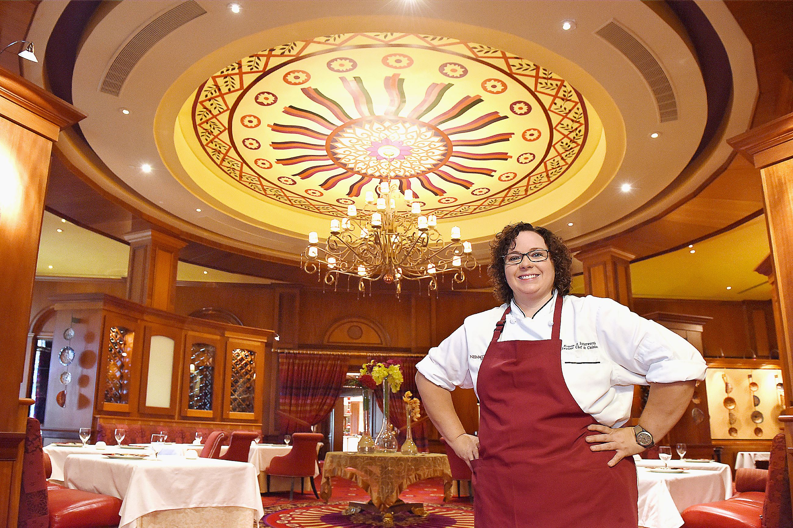 20150910radButterworthMag01 Lautrec restaurant Chef de Cuisine Kristin Butterworth at the Nemacolin Woodlands Resort in Farmington, Fayette County.