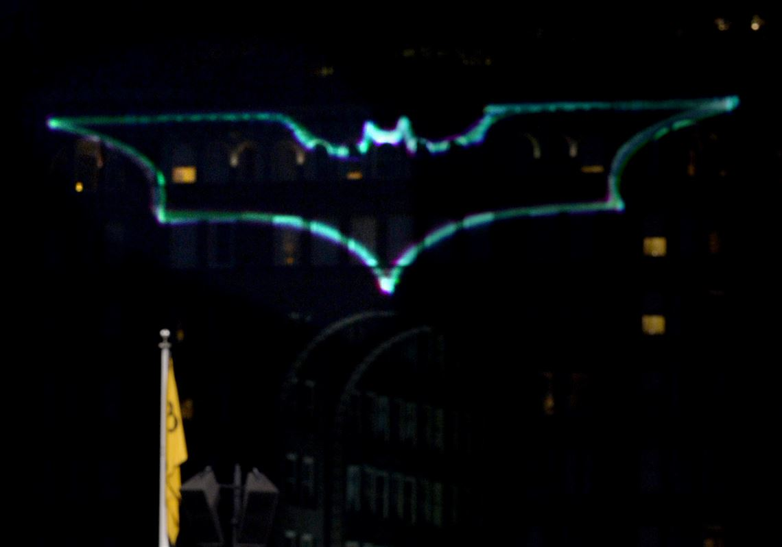Batlight Shines On Line For Dark Knight >> Coolest Career Moment For A J Burnett Took A Superhero Effort To