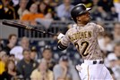 Pirates' Andrew McCutchen hits the game-tying home run against the Brewers in the eighth inning Thursday at PNC Park.