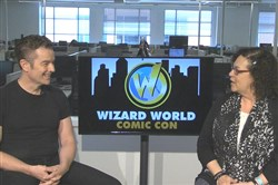 Actor-musician James Marsters visits the PG Studios to chat with online features editor Sharon Eberson Friday, the first day of the Wizard World Comic Con at the David L. Lawrence Convention Center.