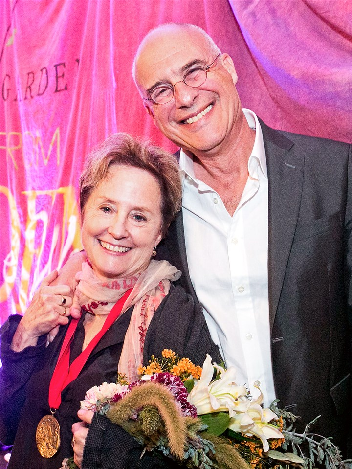0126-13 Alice Waters and Mark Bittman.