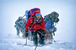 "Jason Clarke as Rob Hall in ""Everest"" turns in an exceptional performance."