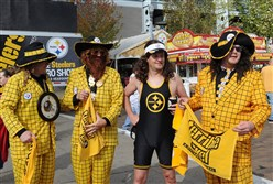 "In 2011, GQ named Pittsburgh No. 3 on its list of 40 worst-dressed U.S. cities for too much ""Game Day casual"" wear."