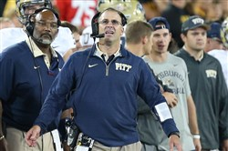 """Every ACC game is going to be important,"" Panthers coach Pat Narduzzi says. ""Our kids are looking forward to it. It, really, will get a spark out of our kids, I think. Those first four games are fun and all that, but they know which ones are important."""