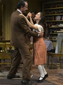 "Pittsburgh Public Theater production of ""The Diary of Anne Frank"" directed by Pamela Berlin runs through Oct. 25 at the O'Reilly Theater. Here, Otto Frank, played by Randy Kovitz, left, dances with his daughter Anne, played by Remy Zaken, during a Sept. 20 photo session."
