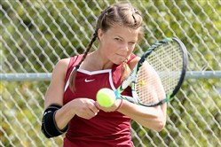 Anne Taylor will take over the No. 1 spot on the Beaver girls tennis team.