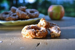 Apple cider doughnuts are a nice treat to serve up this fall.