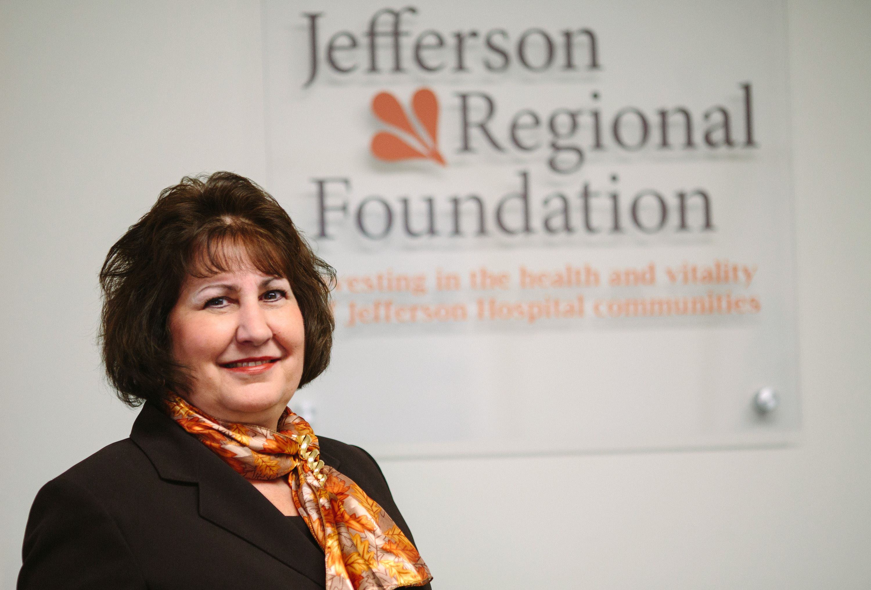 Mary Phan-Gruber, Executive Director of the Jefferson Regional Foundation