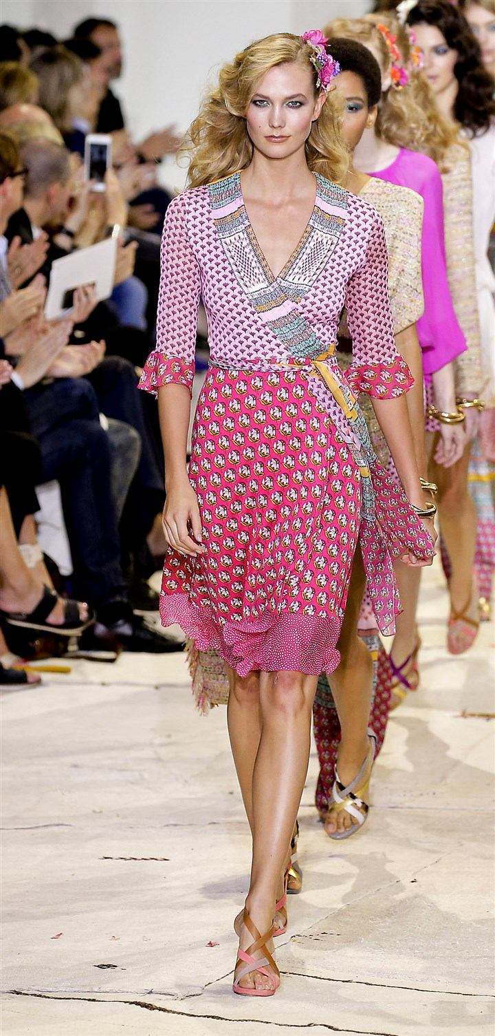 Diane von Furstenberg spring 2016 at New York Fashion Week Diane von Furstenberg