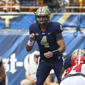 Pitt quarterback Nate Peterman is no stranger to some fierce competition.