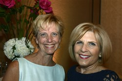 Laura Ellsworth, left, and Ann Metzger.