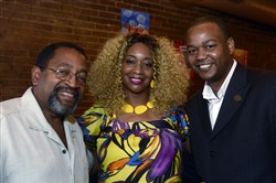 Harold Hayes, Sheila Beasley and Brian Cook.