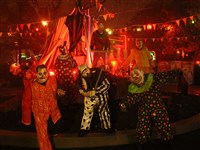 Demented clowns will roam about Fear Fest, part of Kennywood's 2015 Phantom Fright Nights, Fridays and Saturdays through October, plus Sunday, Oct. 11.