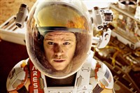 "Astronaut Mark Watney (Matt Damon) finds himself stranded and alone on Mars in ""The Martian."""