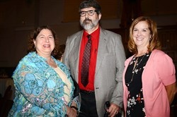 Pat Bednarik, Dr. Rock Heyman and Anne Mageras.