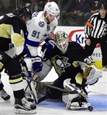 Goaltender Matt Murray was one of four players the Penguins cut after their 7-2 loss against the Detroit Red Wings on Wednesday night.