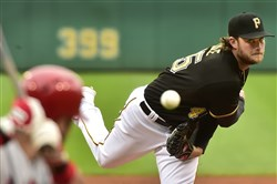 Gerrit Cole has pitched one elimination game before: Game 5 of the 2013 NLDS against the Cardinals at Busch Stadium.