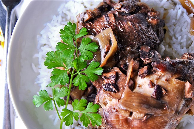 "Amanda Freitag's new book, ""The Chef Next Door,"" features an easy recipe for coq au vin."