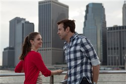 "Lainey (Alison Brie) and Jake (Jason Sudeikis) meet years after their college tryst in ""Sleeping With Other People."""