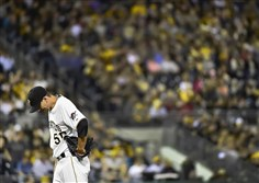 Charlie Morton allowed five runs before leaving in the third inning of Game 2 Wednesday night at PNC Park, quickly taking the drama out of the Pirates' hopes for a sweep.