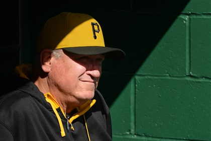 """We're not going to lament about what we don't have,"" Pirates manager Clint Hurdle said."
