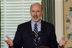 Gov. Tom Wolf has been scrambling to line up support for what could be a key test vote in the state House on Wednesday.