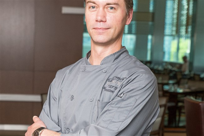 Jason Dalling is the executive chef at Fairmont Pittsburgh.