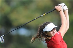 Peters Township's Mia Kness finished tied for sixth at the WPIAL Class AAA individual championships Tuesday at Rolling Hills Country Club in McMurray.