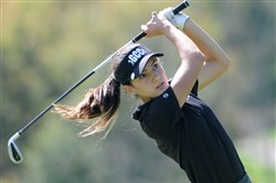 Greensburg Central Catholic's Olivia Zambruno won the WPIAL Class AA individual golf championship by five strokes Tuesday at Rolling Hills Country Club in McMurray.