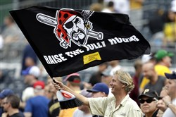The Jolly Rogers will be waving across PNC Park tonight.