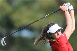 Peters Township's Mia Kness, a Seton Hall recruit, has averaged under par this season.