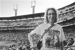 Ronna L. Edelstein at PNC Park.