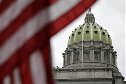 Gov. Tom Wolf's tax proposal is being debated today in the state House of Representatives at the state Capitol in the first-term Democrat's effort to break Pennsylvania's 3-month-old budget impasse.