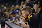 Fans lose hope for a wild card win at PNC Park.