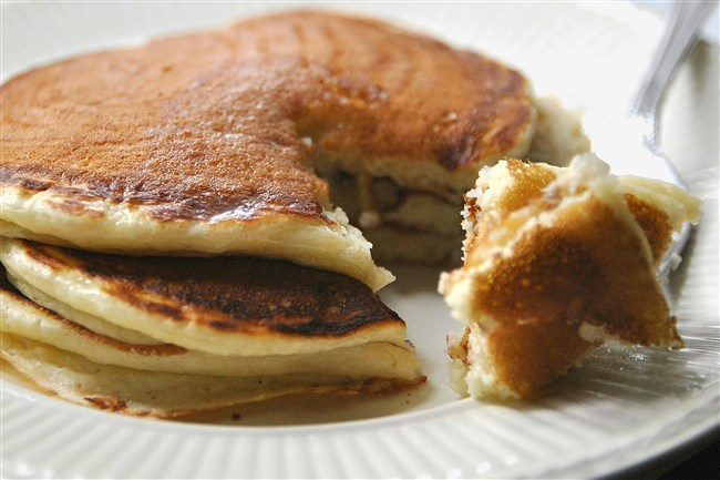 Buttermilk pancakes will be available at the 40th annual Maple Syrup Festival using maple syrup produced in Pennsylvania.