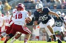 Penn State defensive end Carl Nassib is one of several Nittany Lions set to play their final game at Beaver Stadium.