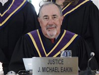 The emails linked to Justice J. Michael Eakin are the latest turn in a pornographic email scandal uncovered by Ms. Kane that has spurred a wave of resignations or firings of state officials.