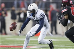 Penn State wide receiver Brandon Polk
