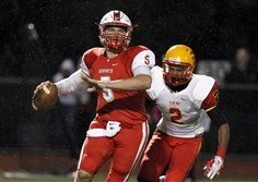 Avonworth quarterback Zach Chandler.