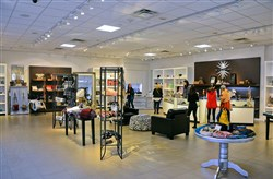 The interior of Serendipity boutique at Tanger Outlets. The accessories shop owned by Pete and Kimberly Coppola is leaving the shopping complex and will open in March at Bill Green's Shopping Center in Pleasant Hills.