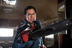 "Bruce Campbell stars in ""Ash vs.Evil Dead"" on Starz."
